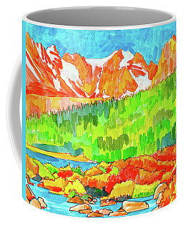 Indian Peaks Wilderness Coffee Mug
