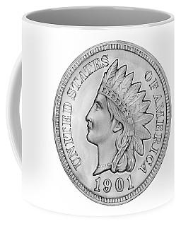 Indian Penny Coffee Mug