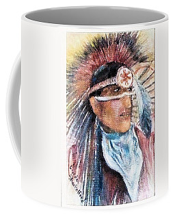 Indian Portrait Coffee Mug