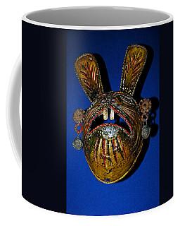 Indian Rabbit Mask Coffee Mug