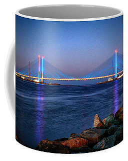 Indian River Inlet Bridge Twilight Coffee Mug