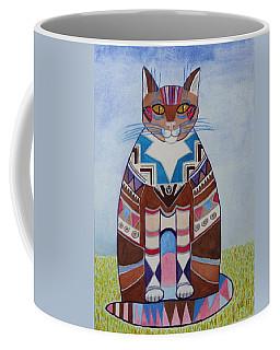 Indian Squirrel Cat Coffee Mug