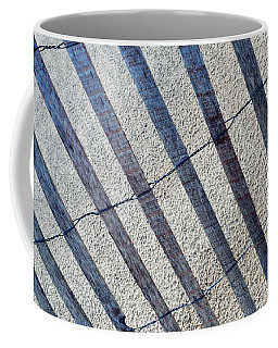 Indiana Dunes Beach Fence Coffee Mug