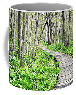 Indiana Dunes Great Green Marsh Boardwalk Coffee Mug