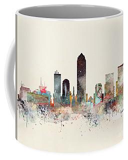 Indianapolis City Skyline Coffee Mug