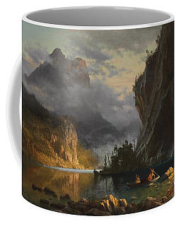 Indians Spear Fishing Coffee Mug