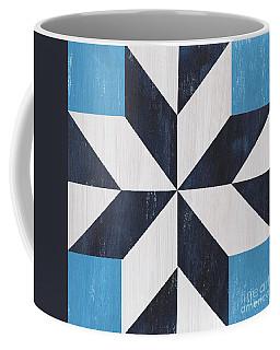 Indigo And Blue Quilt Coffee Mug