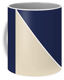 Indigo And Sand Geometric Coffee Mug