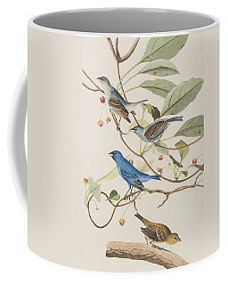 Indigo Bird Coffee Mug