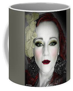 Indigo Heather Portrait  Coffee Mug