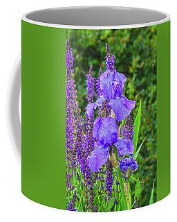 Indigo In Nature  Coffee Mug by Bijan Pirnia