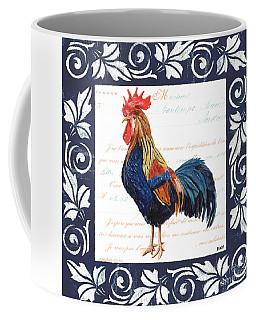 Indigo Rooster 2 Coffee Mug