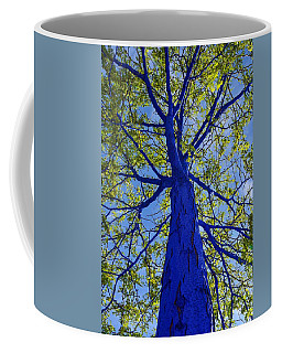 Indigo Tree Coffee Mug