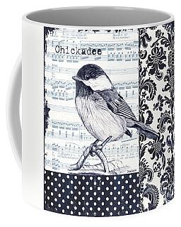 Indigo Vintage Songbird 2 Coffee Mug