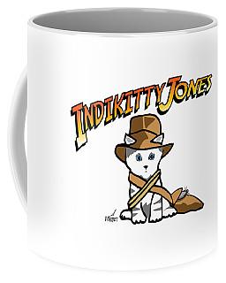 Indikitty Jones Coffee Mug