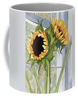 Indoor Sunflowers II Coffee Mug