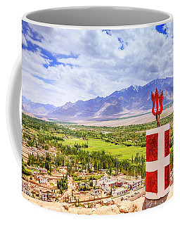 Coffee Mug featuring the photograph Indus Valley by Alexey Stiop