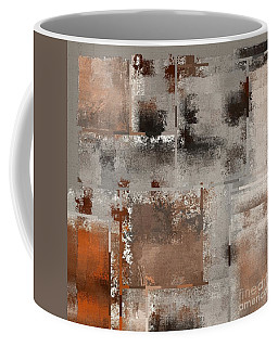 Industrial Abstract - 01t02 Coffee Mug by Variance Collections