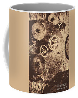 Industrial Gears Coffee Mug