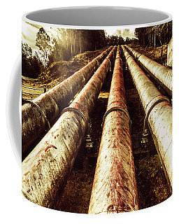 Industrial Hydro Architecture Coffee Mug