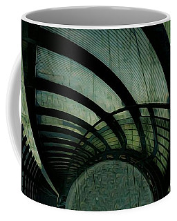 Industrial Overpass Grey Coffee Mug