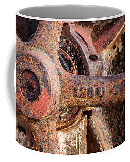 Industrial Patina Coffee Mug