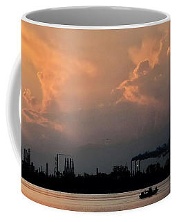 Coffee Mug featuring the photograph Industrial Strength by John Glass