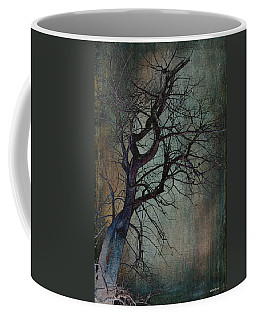 Infared Tree Art Twisted Branches Coffee Mug