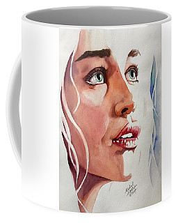 Coffee Mug featuring the painting Infinite Light  by Michal Madison
