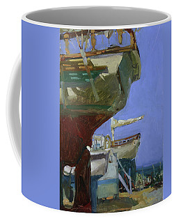 Infinity Awaiting Winter - Plein Air Catalina Island Coffee Mug