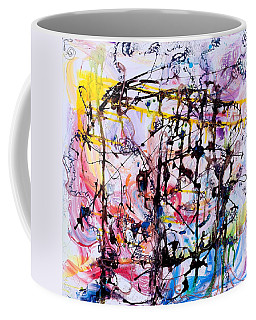 Information Network Coffee Mug by Regina Valluzzi