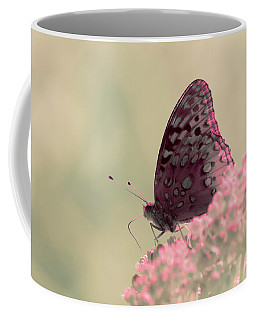 Coffee Mug featuring the photograph Infrared Fritillary 2 by Brian Hale