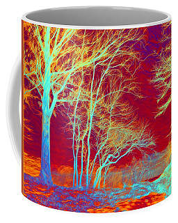 Coffee Mug featuring the photograph Infrared Landscape by Lilia D