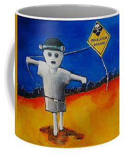 Inhalation Hazard Coffee Mug by Jean Cormier