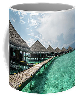 Coffee Mug featuring the photograph Inhale by Hannes Cmarits
