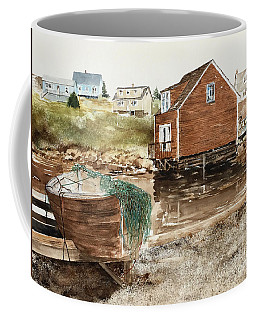 Inlet At Peggy's Cove Coffee Mug