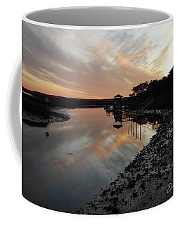 Inlet Sunset Coffee Mug by Gordon Mooneyhan