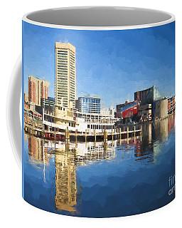 Inner Harbor Reflections  Coffee Mug