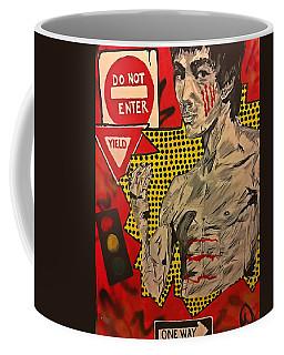Inner Warrior  Coffee Mug by Miriam Moran