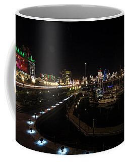 Inner Harbour Of Victoria Bc Coffee Mug by Marilyn Wilson