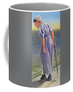 Coffee Mug featuring the painting Innocence Found by Phyllis Beiser
