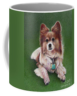Coffee Mug featuring the painting Innocence  by Pamela Clements