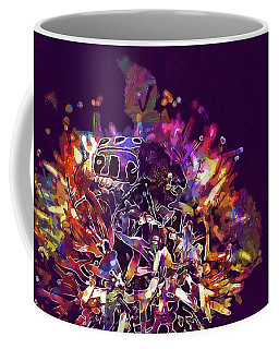 Coffee Mug featuring the digital art Insect Bug Bee Beetle  by PixBreak Art