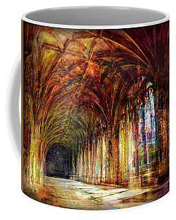 Inside 2 - Transit Coffee Mug by Alfredo Gonzalez