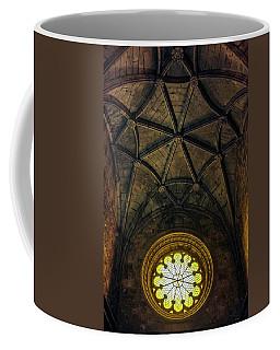 Coffee Mug featuring the photograph Inside Jeronimos by Carlos Caetano