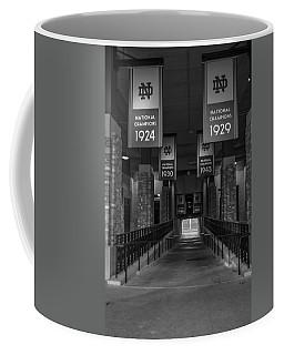 Inside Notre Dame Football Stadium   Coffee Mug