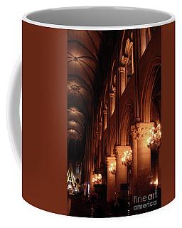 Inside Notre Dame Paris Coffee Mug