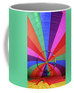 Coffee Mug featuring the photograph Inside Out by Marie Leslie