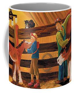 Inside The Barn Coffee Mug