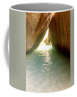 Inside The Baths On Virgin Gorda Coffee Mug